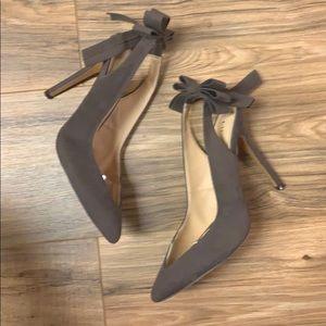 Liliana pointy toe heel with bow back